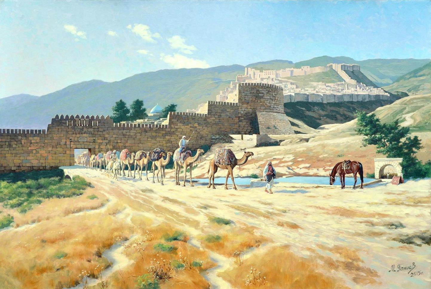 «Древний Дербент история, фортификация, культура»