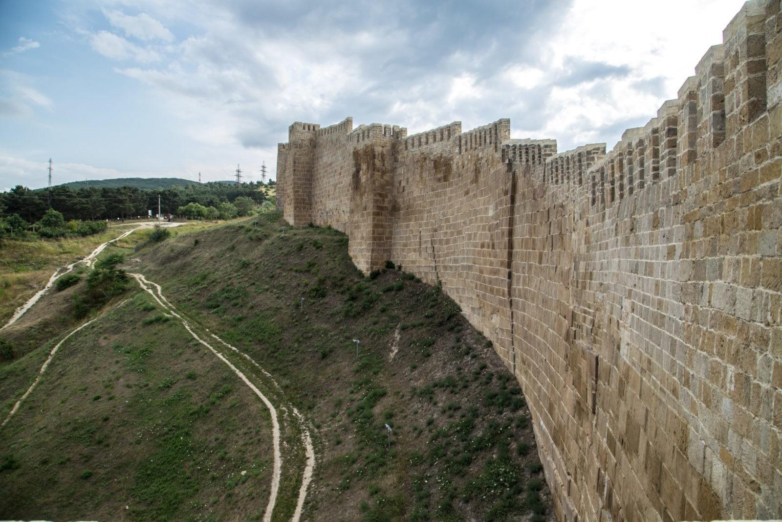 Cтены Дербентской крепости, VI в. южная стена