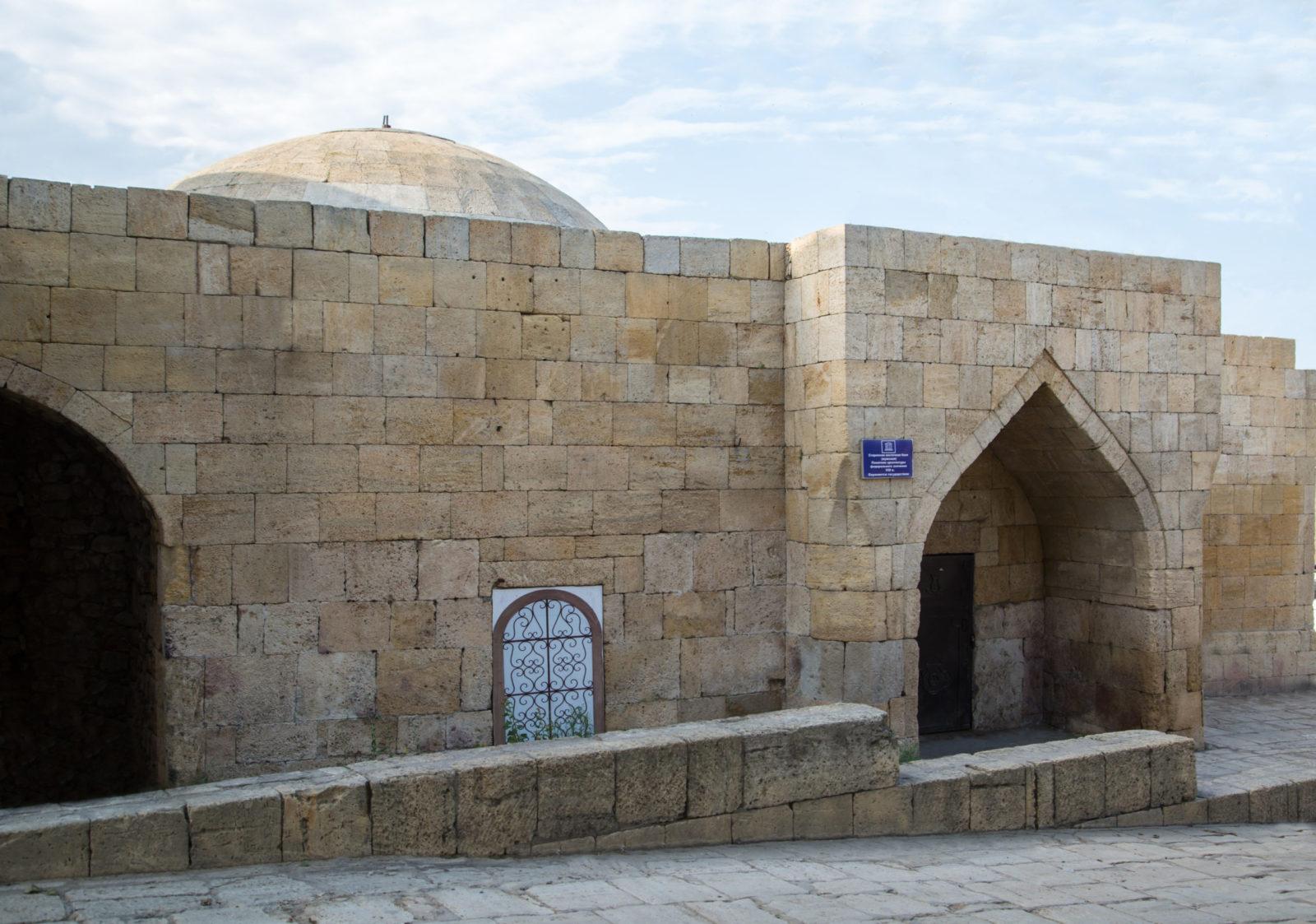Старинная восточная баня (мужская), VIII в.