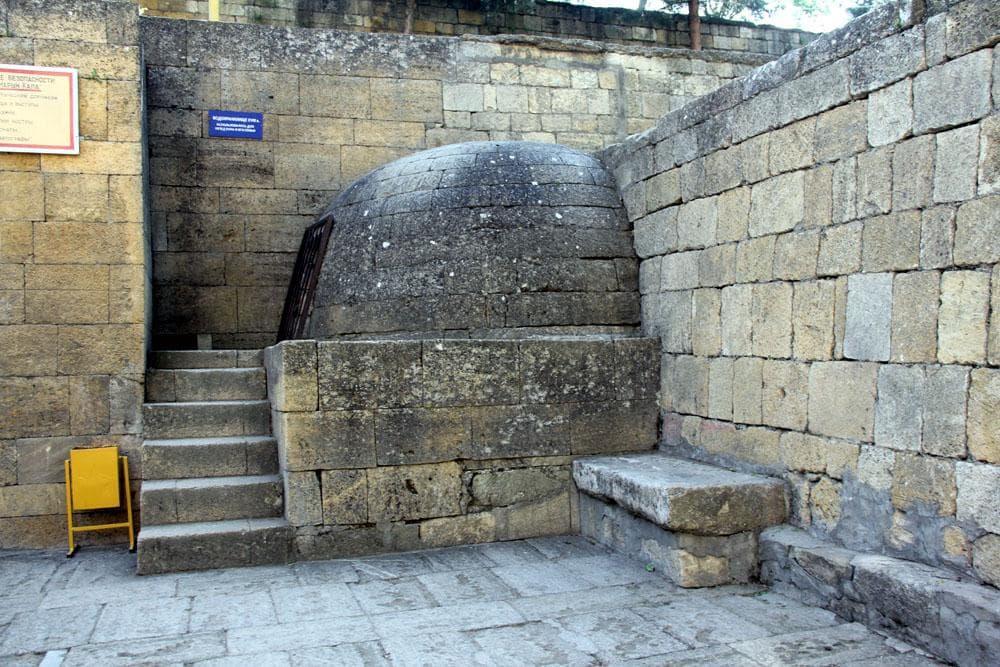 Подземное водохранилище, VIII в.