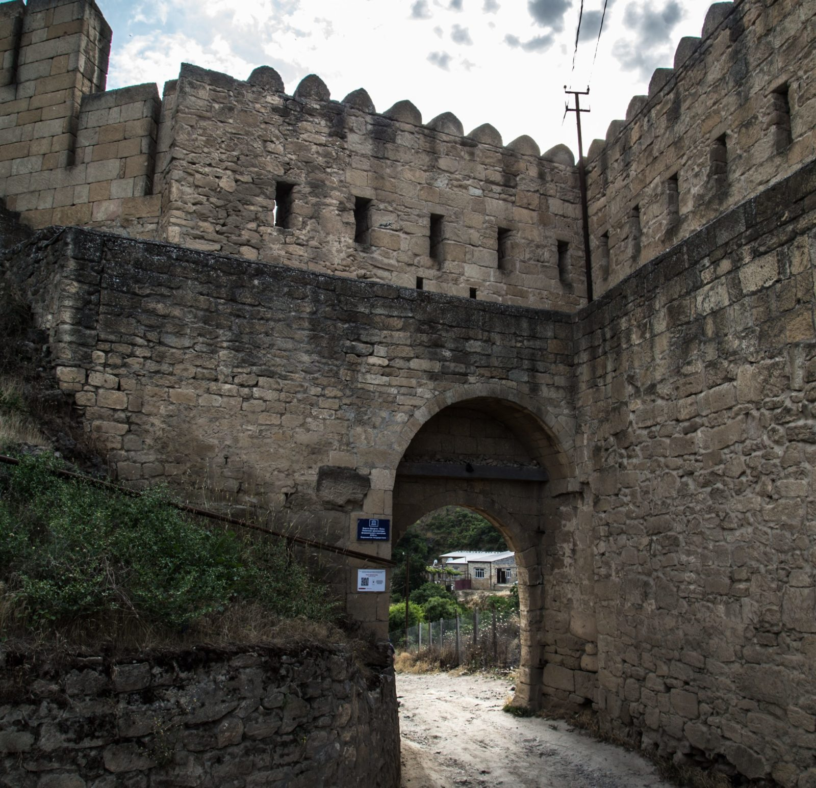 Стены Дербентской крепости, VI в. северная стена
