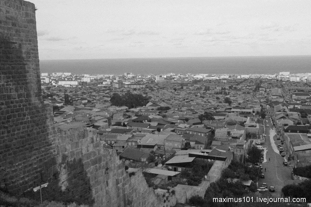 Шахристан — верхний город Дербента