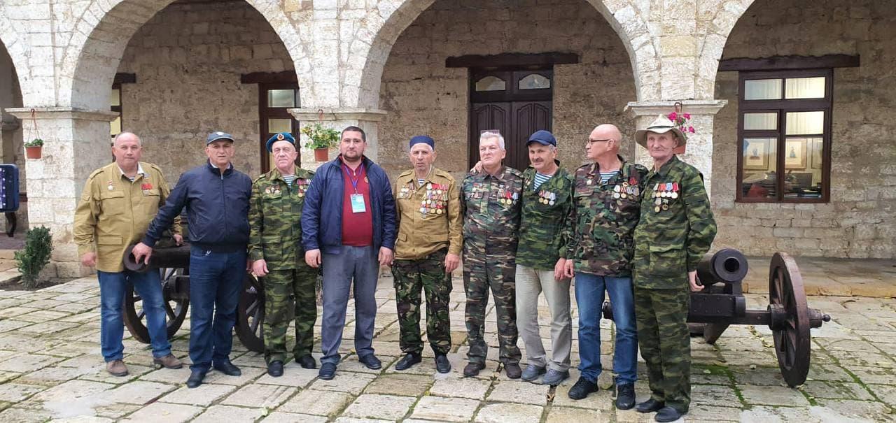 Ветераны Афганской войны посетили Цитадель «Нарын-Кала»